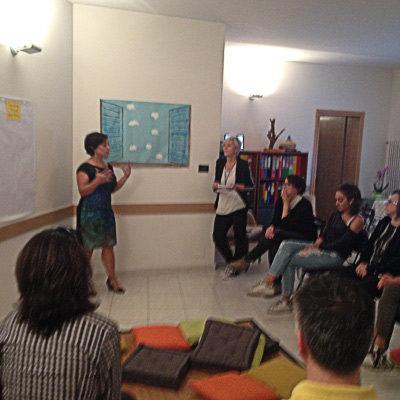 """Presentazione """"Una finestra su di me"""" Art Counseling Albero della Vita Bologna"""