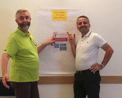 Massimo Giorgini, Giovanni Santandrea: Corso Base Attivare Gruppi Efficaci. Facilitazione a Bologna.