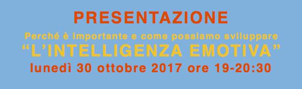 Presentazione laboratorio intelligenza emotiva Massimo Giorgini Bologna