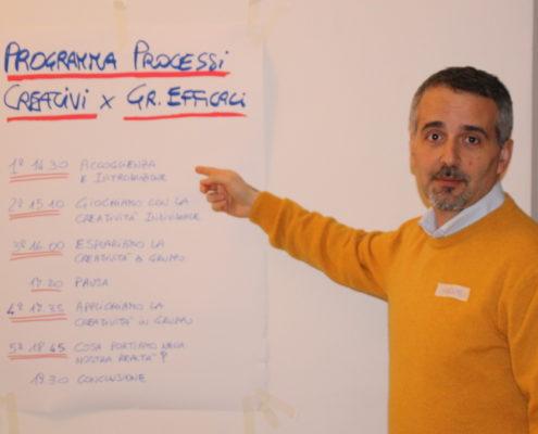 Massimo Giorgini Processi Creativi Gruppi Efficaci 11-02-2018