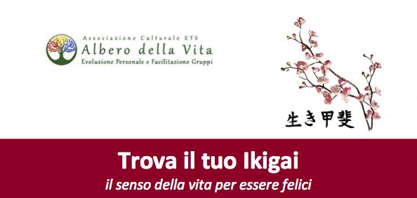 Banner Trova il tuo Ikigai - Associazione Albero della Vita