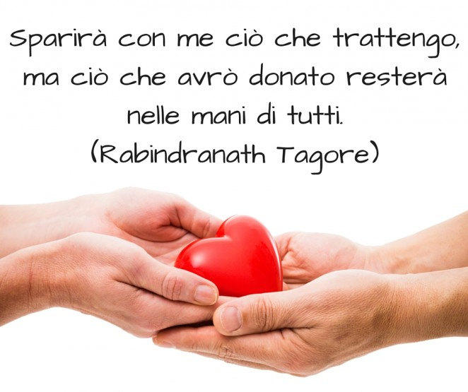 Donare di Rabindranath Tagore