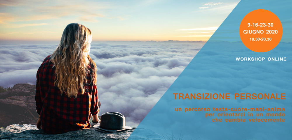 Percorso di Transizione personale testa cuore mani