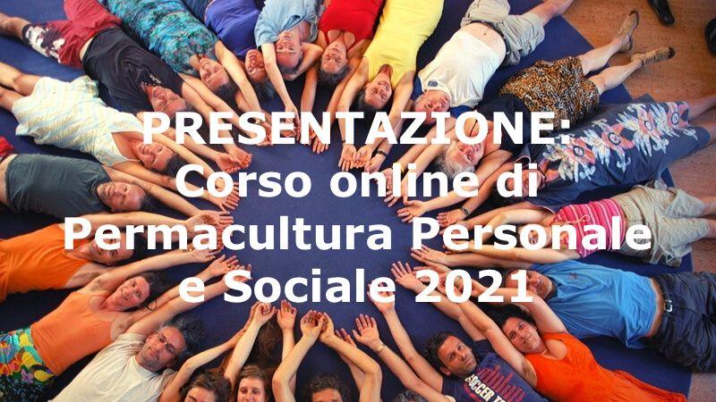 Corso di Permacultura Personale e Sociale