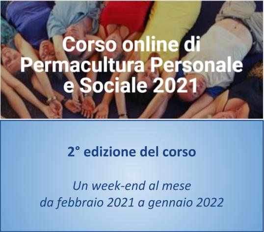 Corso di permacultura personale e sociale - 2° edizione