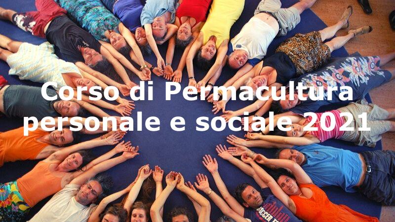Corso di permacultura personale e sociale 2021